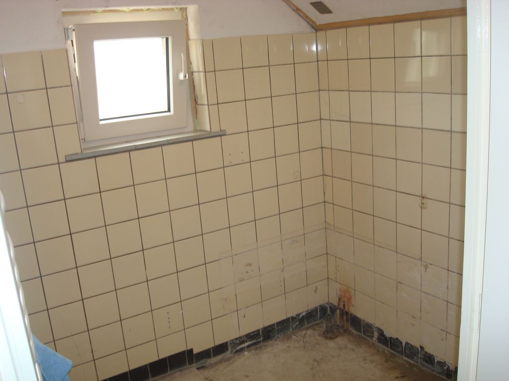 Renovatie douche